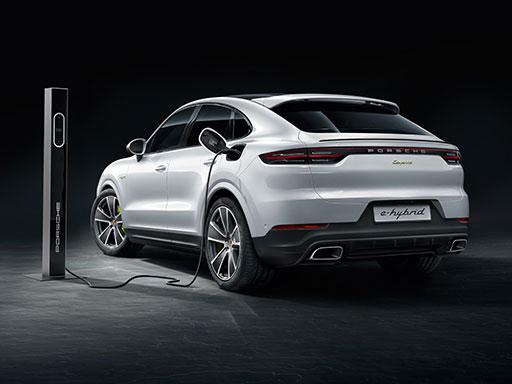 Exklusives Leasingangebot für private Kunden: Porsche Cayenne E-Hybrid Coupé